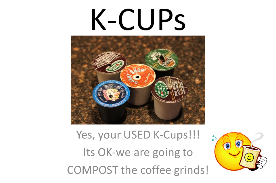 K-CUPs sign